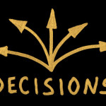 Word Decision and arrows